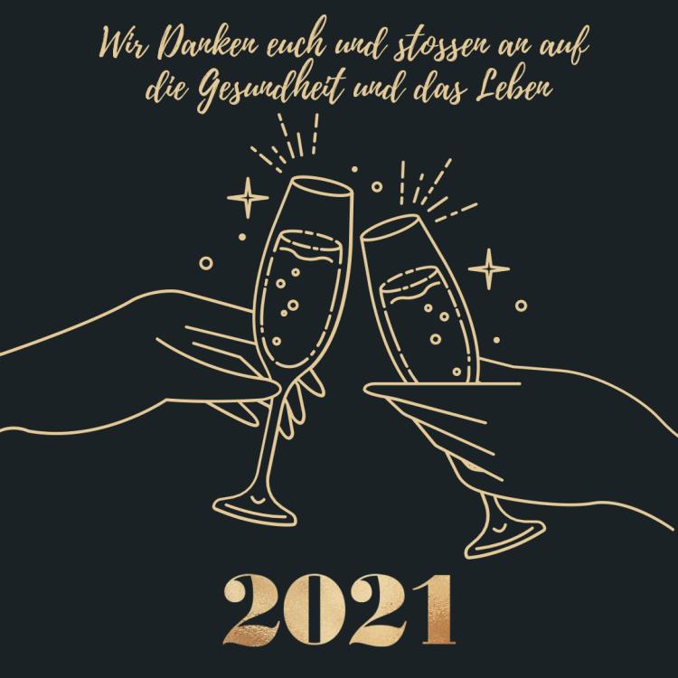 Wir wünschen Dir einen guten Rutsch ins 2021